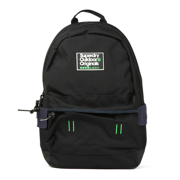 Superdry Mens Black Binder Montana Rucksack main image