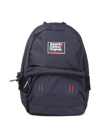 Superdry Mens Blue Binder Montana Rucksack