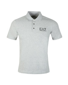 EA7 Emporio Armani Mens Grey 3ZPF52 Polo Shirt