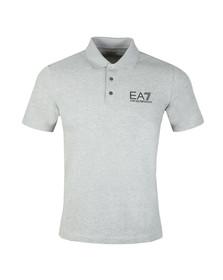 EA7 Emporio Armani Mens Grey 3ZPF52 Polo Shirt