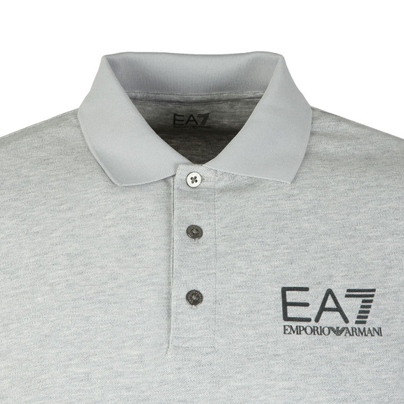 EA7 Emporio Armani Mens Grey 3ZPF52 Polo Shirt main image