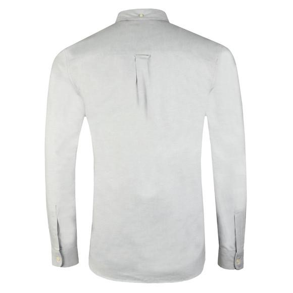 Lyle and Scott Mens Grey L/S Oxford Shirt main image