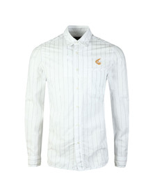 Vivienne Westwood Anglomania Mens White Classic Stripe Shirt