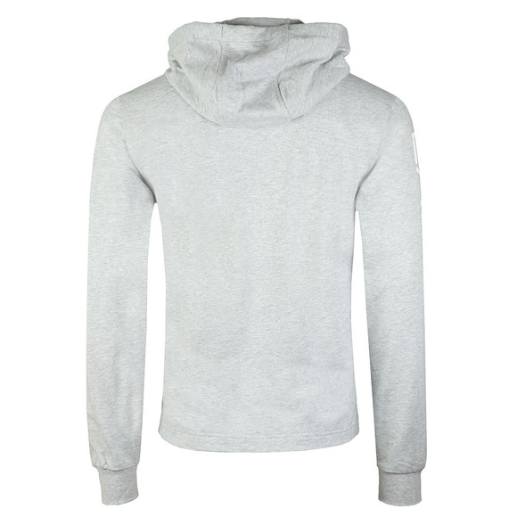 EA7 Emporio Armani Mens Grey Arm Logo Full Zip Hoody