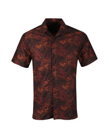 J.Lindeberg Mens Black David T Jacquard Shirt