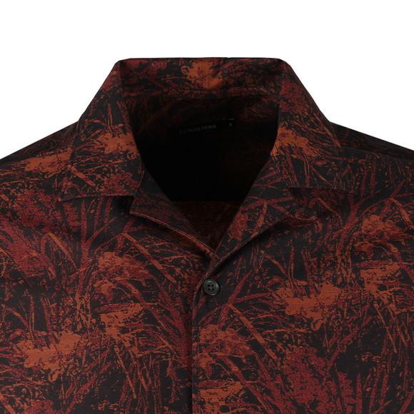 J.Lindeberg Mens Black David T Jacquard Shirt main image