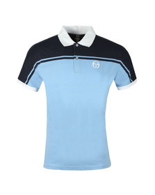 Sergio Tacchini Mens Blue New Young Line Polo Shirt