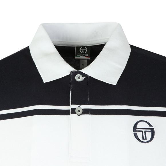 Sergio Tacchini Mens White New Young Line Polo Shirt main image
