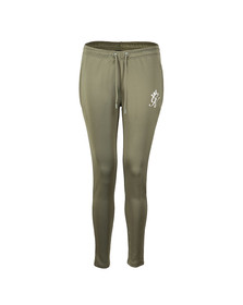 Gym king Womens Green Poly Jogger