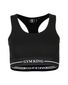 Gym king Womens Black Rebecca Bra Top