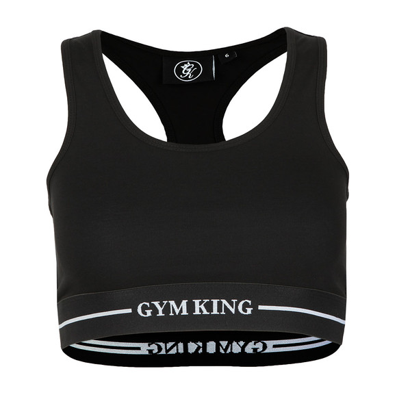 Gym King Womens Black Rebecca Bra Top main image