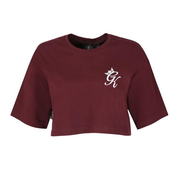 Gym King Womens Red Kourtney Crop T Shirt main image