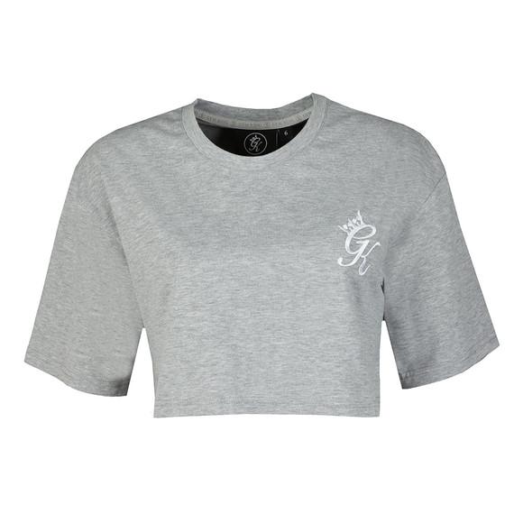 Gym King Womens Grey Kourtney Crop T Shirt main image