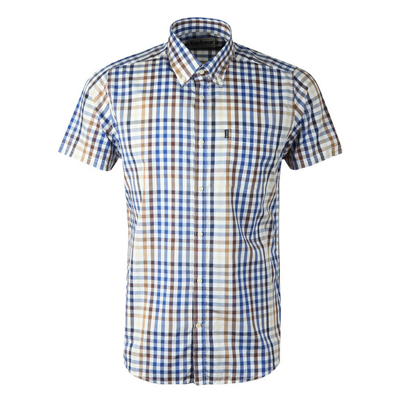 Barbour Lifestyle Mens Brown S/S Russell Shirt main image