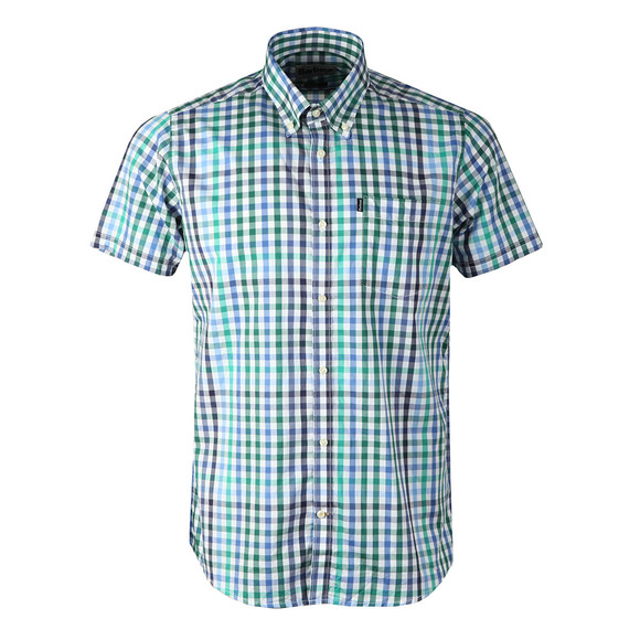 Barbour Lifestyle Mens Green S/S Russell Shirt main image