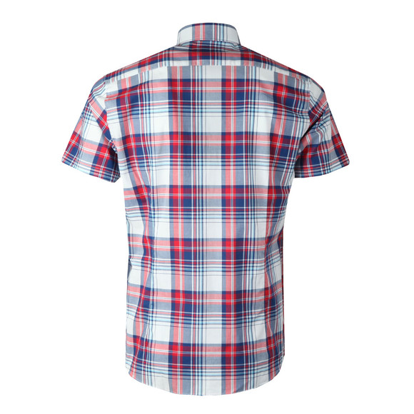 Barbour Lifestyle Mens Red S/S Gerald Shirt main image