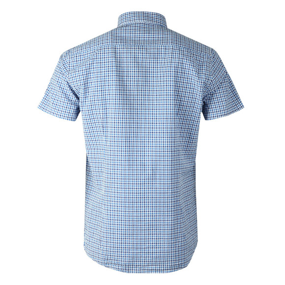 Barbour Lifestyle Mens Blue S/S Newton Shirt main image