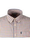 Barbour Lifestyle Mens Orange S/S Newton Shirt