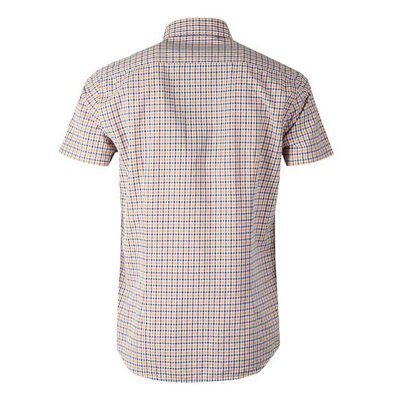 Barbour Lifestyle Mens Orange S/S Newton Shirt main image