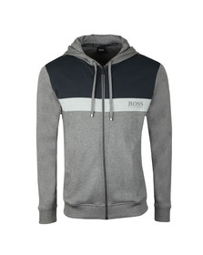 BOSS Mens Grey Homeleisure Full Zip Hoody