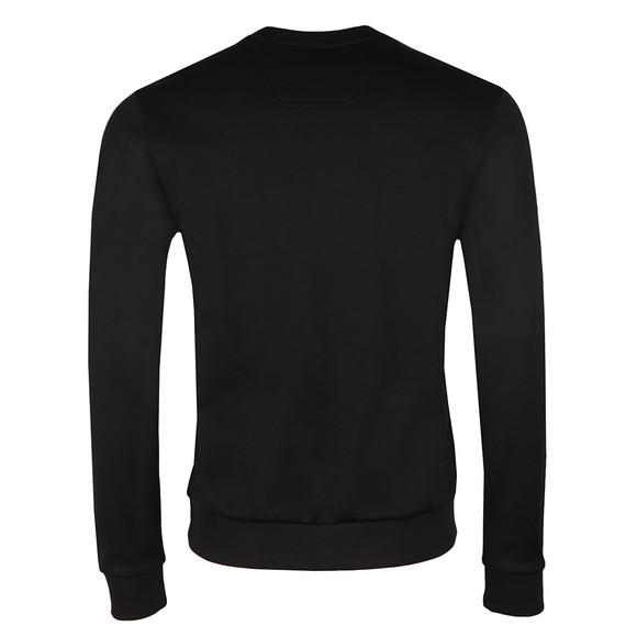 Boss Green Mens Black Salbo Crew Sweatshirt main image