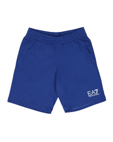 EA7 Emporio Armani Mens Blue 3ZPS51 Sweat Shorts