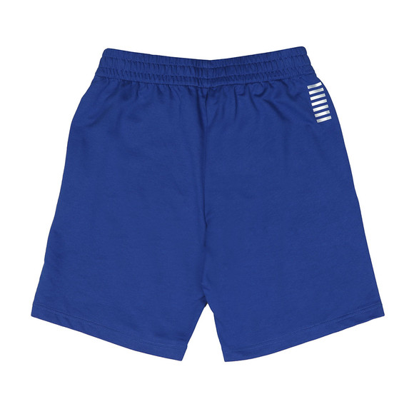 EA7 Emporio Armani Mens Blue 3ZPS51 Sweat Shorts main image