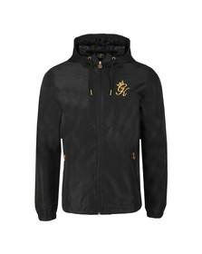 Gym king Mens Black Windbreaker Jacket