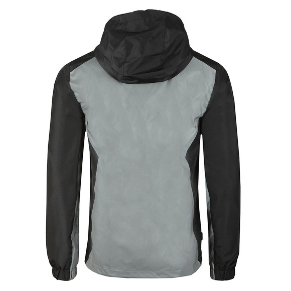 Gym king Mens Black Reflective Windbreaker main image