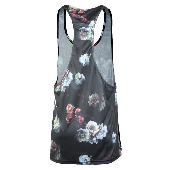 Sik Silk Mens Black Racer Back Vest main image