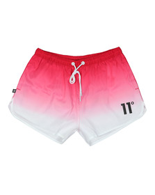 Eleven Degrees Mens Red Tong SwimShort