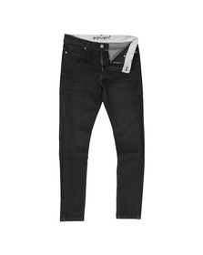 Eleven Degrees Mens Black Essential Skinny Jean