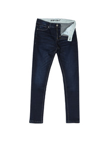 Eleven Degrees Mens Blue Essential Skinny Jean