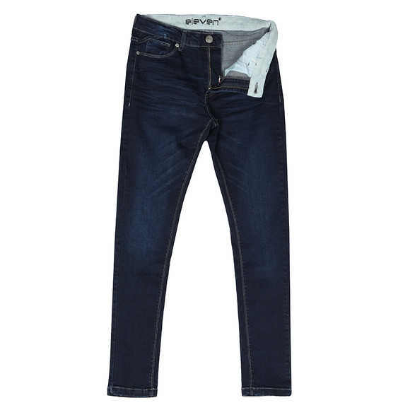 Eleven Degrees Mens Blue Essential Skinny Jean main image
