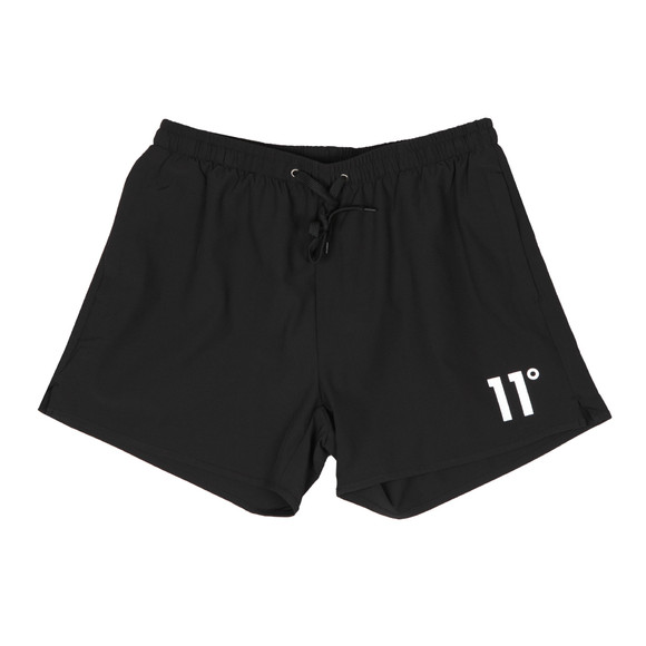 Eleven Degrees Mens Black Core SwimShort main image