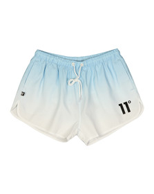 Eleven Degrees Mens Blue Tong SwimShort