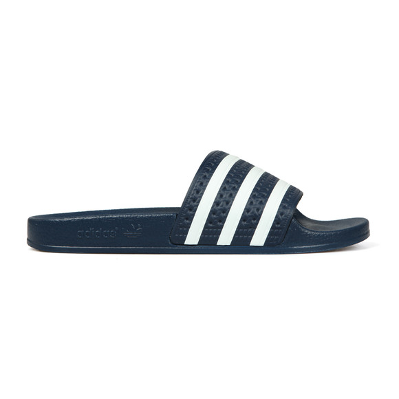 adidas Originals Mens Blue Adilette Flip Flop
