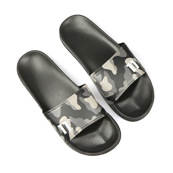 Eleven Degrees Mens Black Elite Slides main image