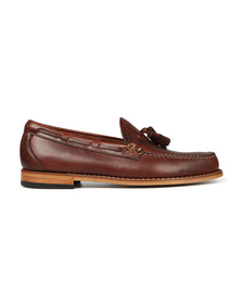 G H Bass & Co Mens Brown Larkin Pull Up Loafer