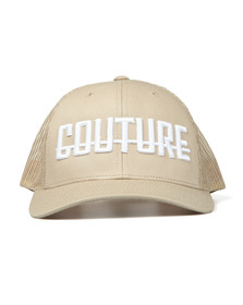 Fresh Couture Mens Beige Logo Cap
