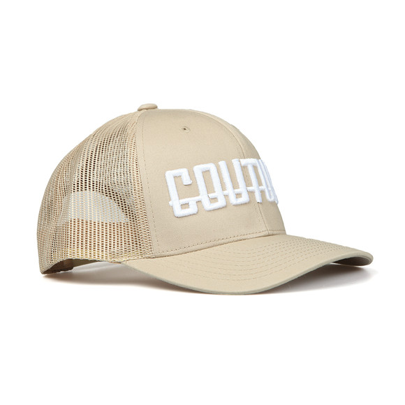 Fresh Couture Mens Beige Logo Cap main image