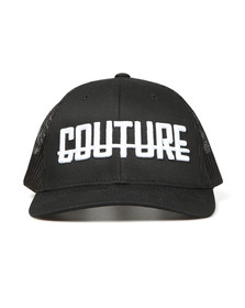 Fresh Couture Mens Black Logo Cap