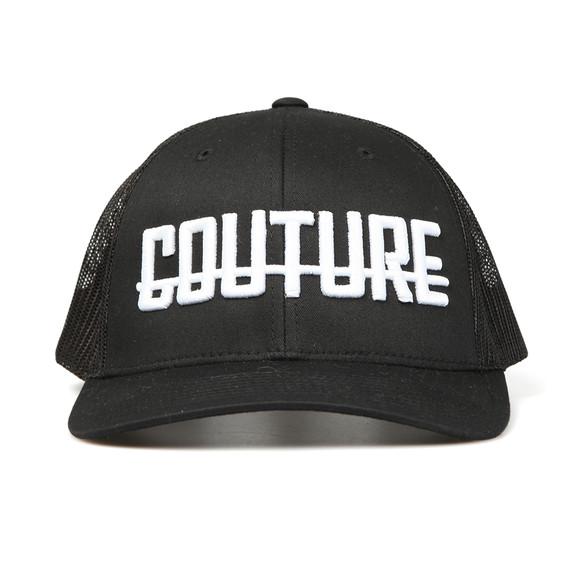 Fresh Couture Mens Black Logo Cap main image