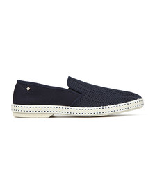 Rivieras Mens Blue Classic 20 Loafers