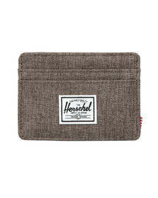 Herschel Mens Brown Charlie Card Holder