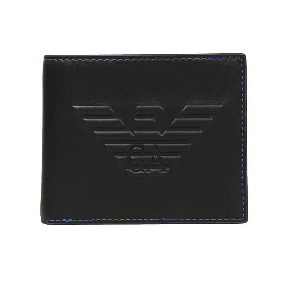 Emporio Armani Mens Black Embossed Logo  Wallet main image