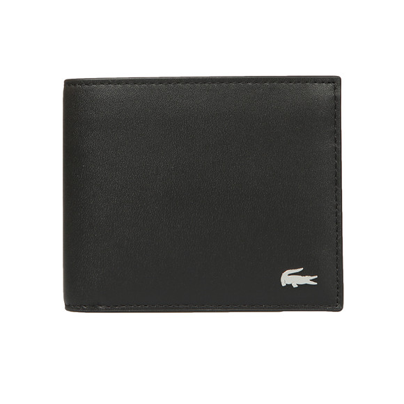 Lacoste Mens Black Large Billfold Coin Wallet main image