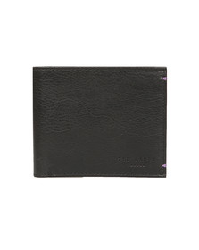 Ted Baker Mens Black Suede Internal Bifold