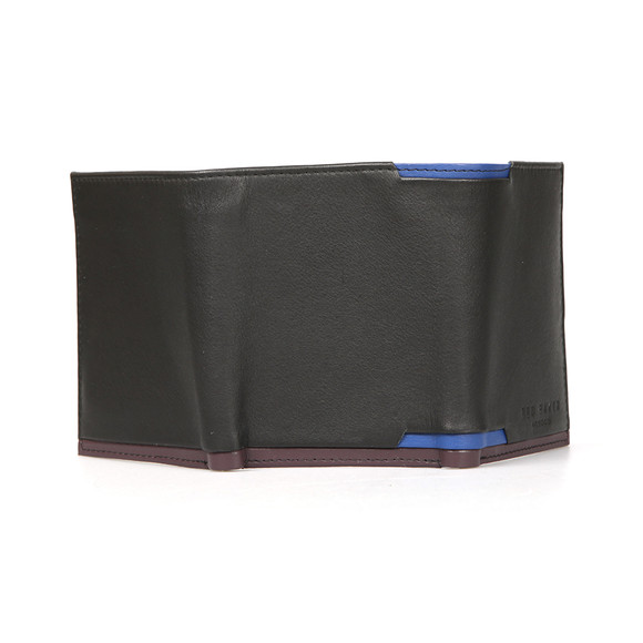 Ted Baker Mens Black Corner Detail Trifold main image