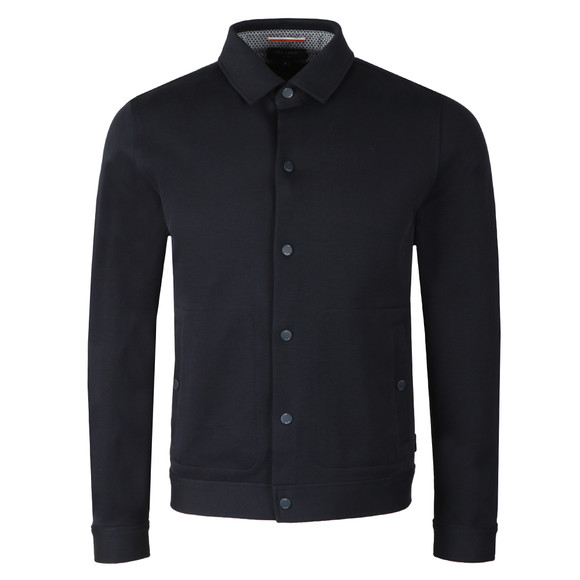 Ted Baker Mens Blue Twill Jacket main image
